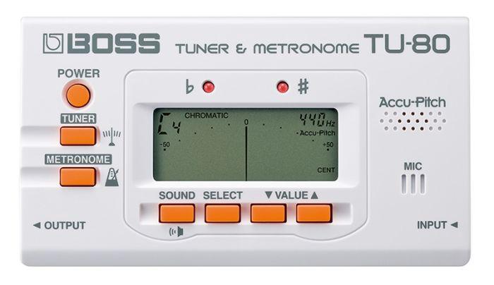 BOSS TU-80-WH TUNER METRONOM